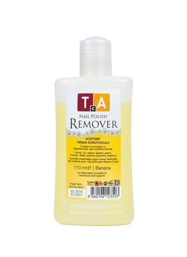 Tca Studio Make Up Naıl Polısh Remover Banana 110Ml Renksiz